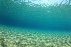 Fundo subaquático foto de stock