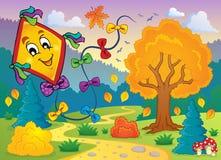 Imagem temático 6 do outono Fotos de Stock