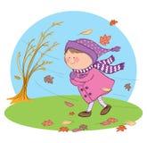 Estação do outono ilustração stock