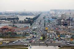 Imagem tomada da torre de Azadi Fotografia de Stock Royalty Free