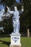 Imagem velha de Cristo no estilo moderno Fotografia de Stock
