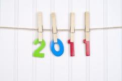 Imagen 2011 del concepto Imágenes de archivo libres de regalías