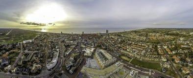Imagen aérea de Zandvoort Foto de archivo libre de regalías