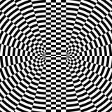 Imagen abstracta de Digitaces con una circular psicodélica Fotografía de archivo