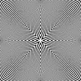 Imagen abstracta de Digitaces con una circular psicodélica Foto de archivo libre de regalías