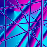 Imagen abstracta de la conectividad, de la estructura y de la complejidad Fotografía de archivo