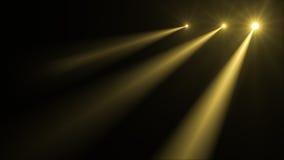 Imagen abstracta de la llamarada de la iluminación Foto de archivo libre de regalías