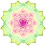 Imagen abstracta de la mandala Fotos de archivo libres de regalías