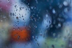 Imagen abstracta de la monzón Fotografía de archivo