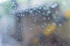 Imagen abstracta de la monzón Fotografía de archivo libre de regalías