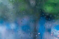 Imagen abstracta de la monzón Fotos de archivo libres de regalías