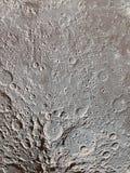 Imagen abstracta de la superficie lunar fotografía de archivo