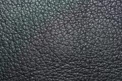 Imagen abstracta de la textura del cuero negro imágenes de archivo libres de regalías