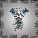 Imagen abstracta de los colores stock de ilustración