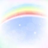 Imagen abstracta de un arco iris Fotografía de archivo