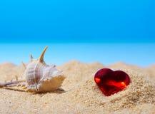 Imagen abstracta de un día de fiesta en el mar en el verano Fotos de archivo