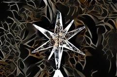 Imagen abstracta de una estrella Imagenes de archivo