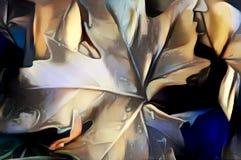 imagen abstracta de una hoja Imagen de archivo libre de regalías
