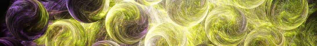Imagen abstracta del color Opini?n panor?mica de Gorizontal para el skinali del panel de la cocina 3d rinden foto de archivo