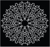 Imagen abstracta floral circular Libre Illustration