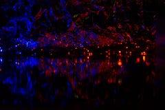 Imagen abstracta, fondo hermoso de la noche para los protectores de pantalla Fotos de archivo