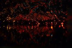 Imagen abstracta, fondo hermoso de la noche para los protectores de pantalla Imagen de archivo