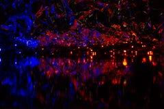 Imagen abstracta, fondo hermoso de la noche para los protectores de pantalla Imagenes de archivo