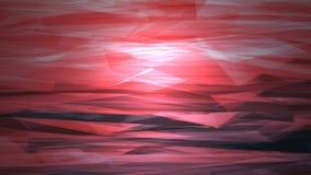 Imagen abstracta, paisaje abstracto rojo Fotos de archivo