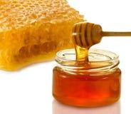 Imagen aislada del primer de la miel Imagen de archivo libre de regalías