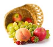 Imagen aislada del primer de las frutas Fotos de archivo