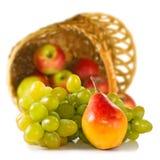 Imagen aislada del primer de las frutas Imagenes de archivo