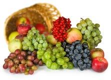 Imagen aislada del primer de las frutas Foto de archivo