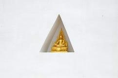 Imagen asentada de Buda Fotografía de archivo
