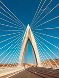 Imagen asombrosa, puente mohammed 6 en Marruecos libre illustration