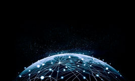 Imagen azul del globo Imágenes de archivo libres de regalías