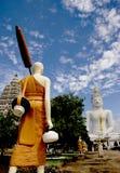 Imagen blanca de Buddha Imagenes de archivo