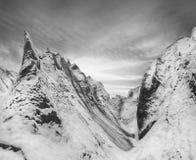 Imagen blanco y negro de los montones de la pizarra del carenow Foto de archivo libre de regalías