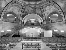 Imagen blanco y negro, edificio del capitol del estado de Missouri fotografía de archivo