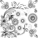 Imagen blanco y negro para el libro de colorear Fotos de archivo libres de regalías
