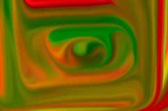 Imagen borrosa del color del extracto del espiral imagen de archivo libre de regalías