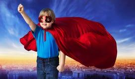 Imagen cómica del estilo de un super héroe Imagen de archivo