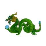 Imagen china del dragón Imagenes de archivo