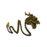 Imagen china del dragón Fotografía de archivo libre de regalías