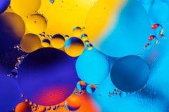 Imagen científica de la membrana celular Macro para arriba de sustancias líquidas Sctructure abstracto del átomo de la molécula B Imagen de archivo libre de regalías