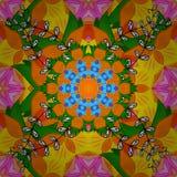 Imagen coloreada extracto Fotos de archivo