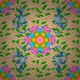 Imagen coloreada extracto Foto de archivo