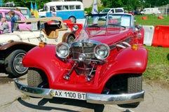 Imagen común automotriz del vintage de Mercedes-Benz Cabriolet imagen de archivo libre de regalías