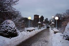 Imagen común de Beacon Hill, Boston foto de archivo libre de regalías