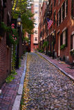 Imagen común de Beacon Hill, Boston, los E.E.U.U. fotos de archivo
