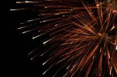 Imagen común de fuegos artificiales Imágenes de archivo libres de regalías